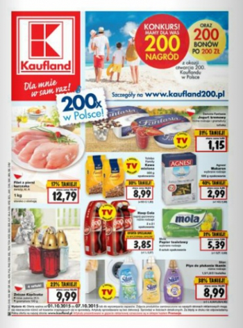 Kaufland od 1.10 do 7.10