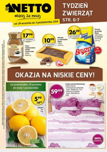 Netto od 29.09 do 5.10
