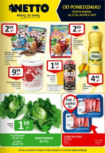 Netto od 22.07 do 28.07