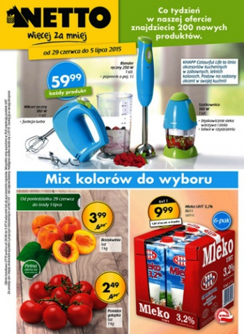 Netto od 29.06 do 5.07