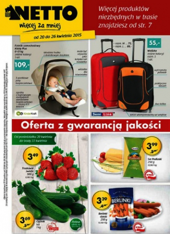 Netto od 20.04 do 26.04