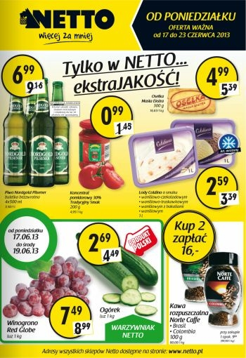 Netto od 17.06 do 23.06