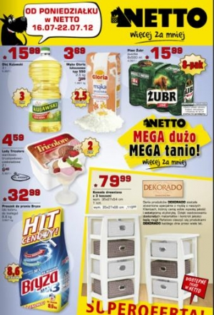 Netto od 16.07 do 22.07