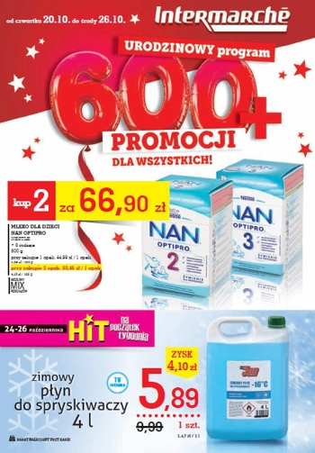 Intermarche od 20.10 do 26.10