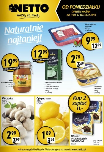 Netto od 11.02 do 17.02