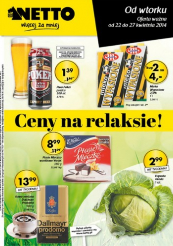 Netto od 22.04 do 27.04