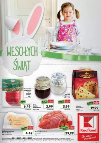 Kaufland od 6.04 do 15.04