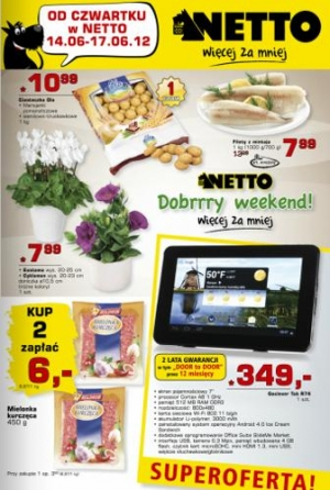 Netto od 14.06 do 17.06