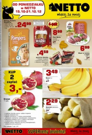 Netto od 15.10 do 21.10