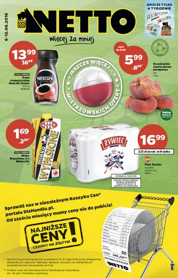 Netto od 6.06 do 12.06