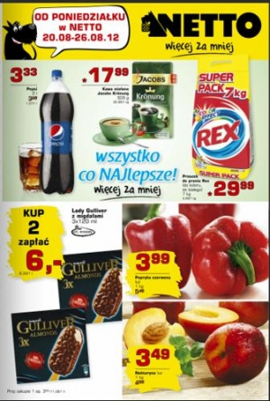 Netto od 20.08 do 26.08