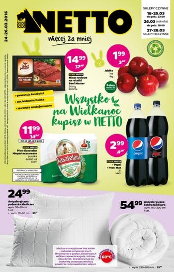 Netto od 24.03 do 26.03