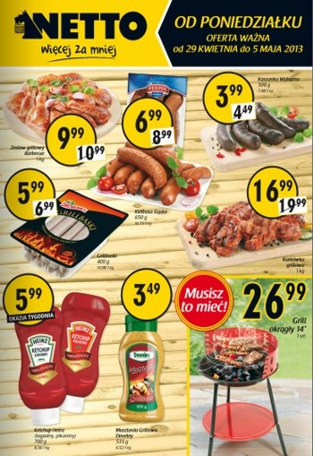 Netto od 29.04 do 5.05