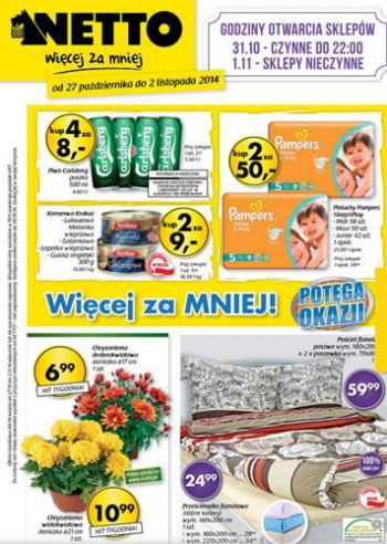 Netto od 27.10 do 2.11