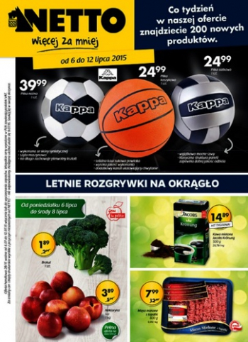 Netto od 6.07 do 12.07
