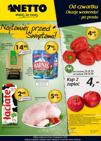 Netto od 21.11 do 24.11