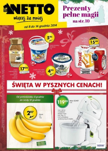Netto od 8.12 do 14.12