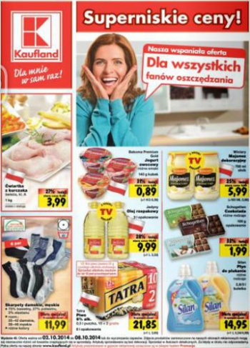 Kaufland od 2.10 do 8.10