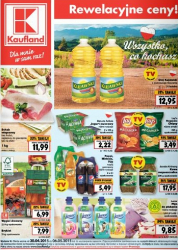 Kaufland od 30.04 do 6.05