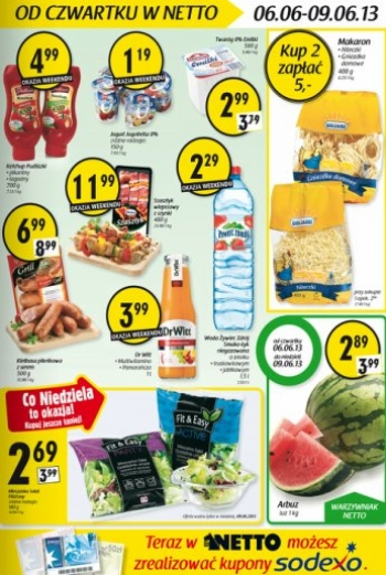 Netto od 6.06 do 9.06