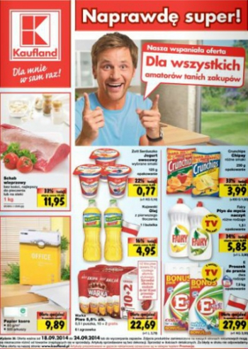 Kaufland od 18.09 do 24.09