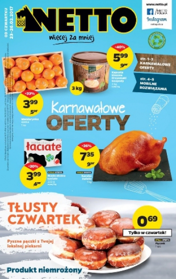 Netto od 23.02 do 26.02
