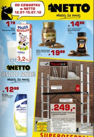 Netto od 12.07 do 15.07