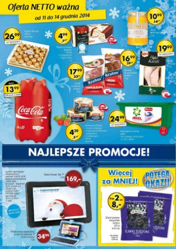 Netto od 11.12 do 14.12