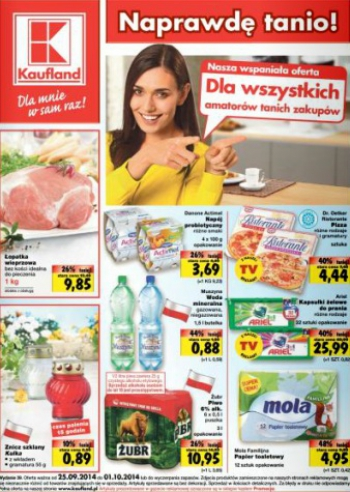 Kaufland od 25.09 do 1.10