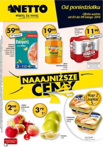 Netto od 3.02 do 9.02