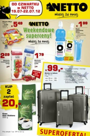 Netto od 19.07 do 22.07