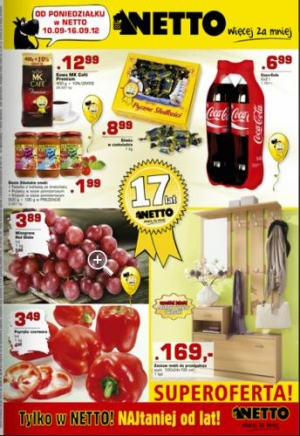 Netto od 10.09 do 16.09