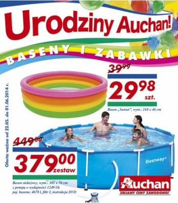 Auchan od 22.05 do 1.06