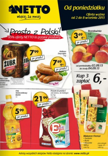Netto od 2.09 do 8.09