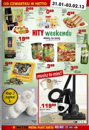 Netto od 31.01 do 3.02