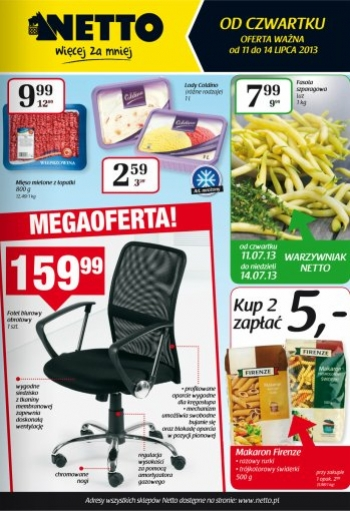 Netto od 11.07 do 14.07