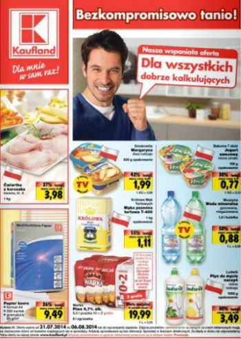Kaufland od 31.07 do 6.08