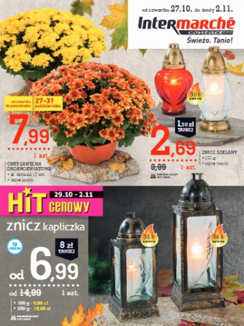 Intermarche od 27.10 do 2.11
