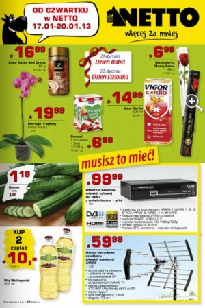 Netto od 17.01 do 20.01