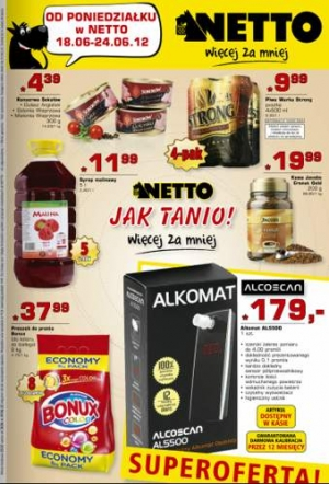 Netto od 18.06 do 24.06