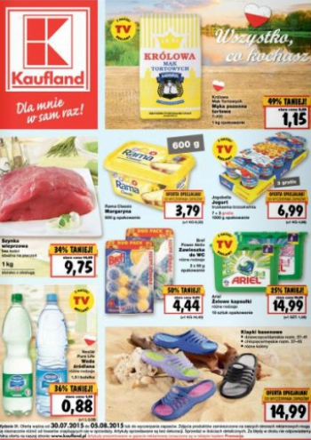 Kaufland od 30.07 do 5.08