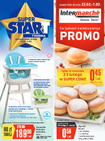 Intermarche od 23.02 do 1.03