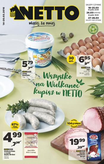 Netto od 14.03 do 20.03