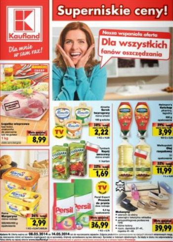 Kaufland od 8.05 do 14.05