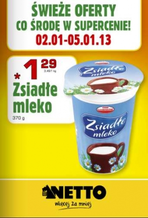 Netto od 02.01 do 05.01