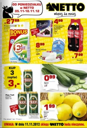 Netto od 05.11 do 10.11