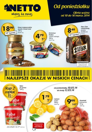 Netto od 10.03 do 16.03