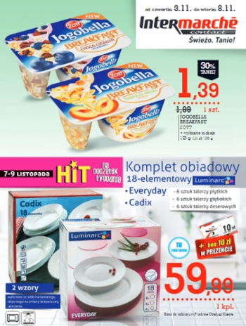 Intermarche od 3.11 do 8.11