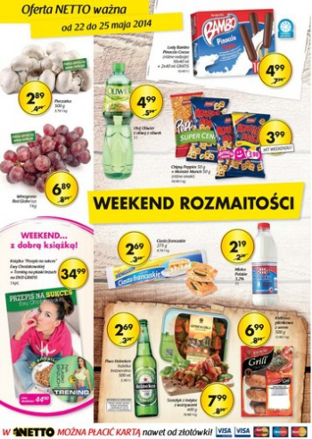 Netto od 22.05 do 25.05