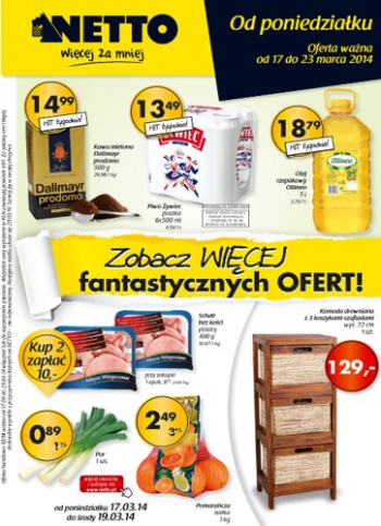 Netto od 17.03 do 23.03